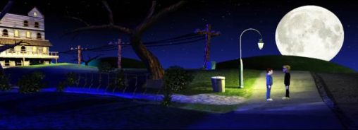 Maniac Mansion 3D Startup