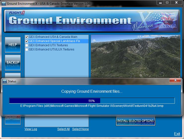 fsx - ground environment x enhanced